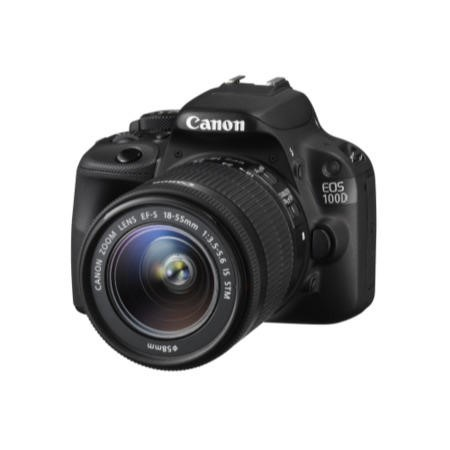Canon EOS 100D DSLR Camera + 18-55mm IS STM Lens
