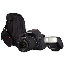 Canon EOS 700D SLR Kit inc 18-55mm Lens 300EG Bag 270EX II Speedlite 8596B027AA 300GFLASH