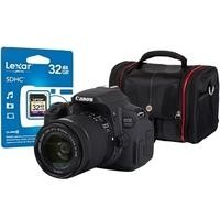 Canon EOS 700D DSLR Camera + EF-S 18-55mm IS STM Lens + 32GB SD Card + Camera Bag