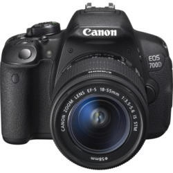 Canon EOS700D Digital SLR Camera with EF-S 18-55mm