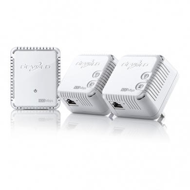 Devolo Dlan 500 WiFi Network Kit- 3X PLUGS