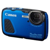 Canon PowerShot D30 Waterproof Digital Camera - Blue