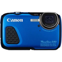 Canon PowerShot D30 Compact Digital Camera - Blue