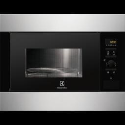 Electrolux 947608625 Built-in inclusive frame Microwave Oven in Stainless steel with antifingerp