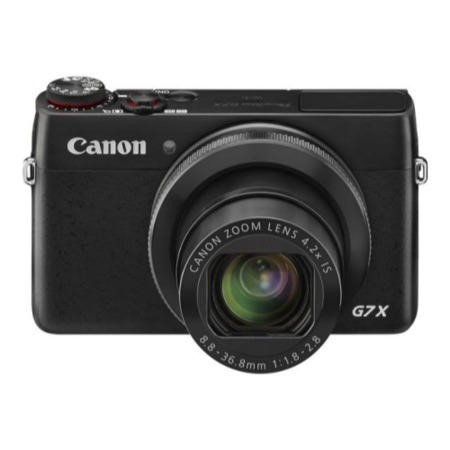Canon PowerShot G7X Camera Black 20.2MP 4.2xZoom 3.0TouchLCD FHD 24mm Wide GPS