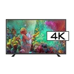 GRADE A1 -electriQ 55 Inch 4K Ultra HD LED TV with Freeview HD