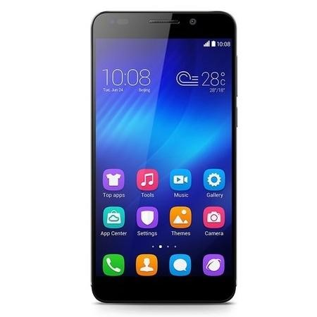 "Refurbished Honor 6 Black 5"" 16GB 4G Unlocked & SIM Free"
