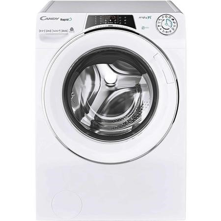 Refurbished Candy Rapido ROW14856DWHC-80 Freestanding 8/5KG 1400 Spin Washer Dryer