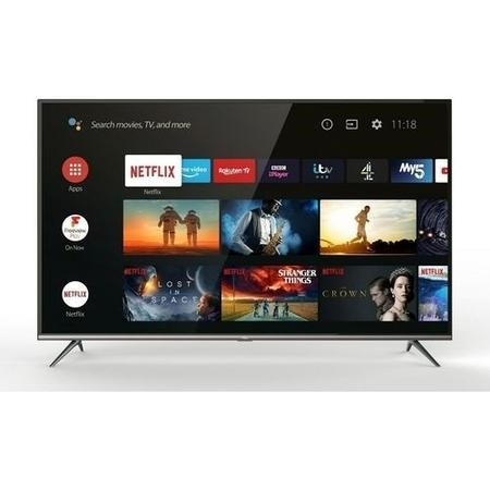 "Refurbished TCL 43"" 4K Ultra HD with HDR10 LED Freeview HD Smart TV"
