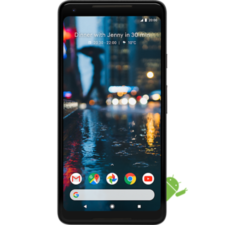 "Grade B Google Pixel 2 XL Just Black 5"" 128GB 4G Unlocked & SIM Free"