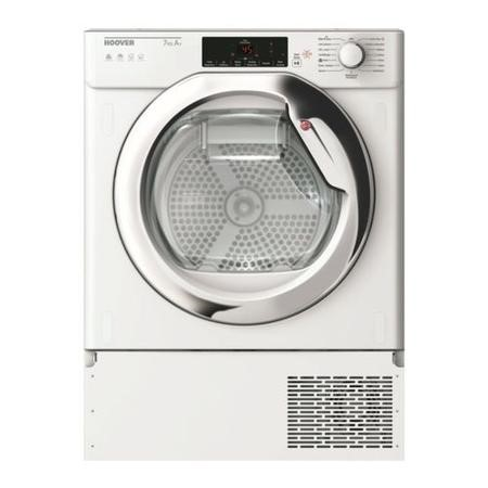 Refurbished Hoover H-DRY 700 HBTDW H7A1TCE-80 Smart Integrated Heat Pump 7KG Tumble Dryer