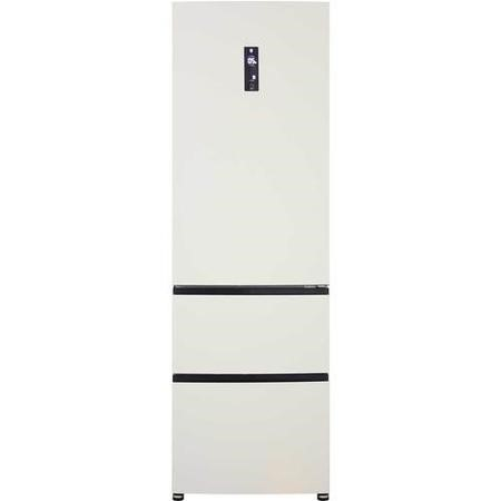 Haier A2FE635CCJ Frost Free Cream Freestanding Fridge Freezer