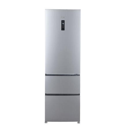 Haier A2FE735CXJ 191x60cm Frost Free Freestanding Fridge Freezer With MyZone - Stainless Steel