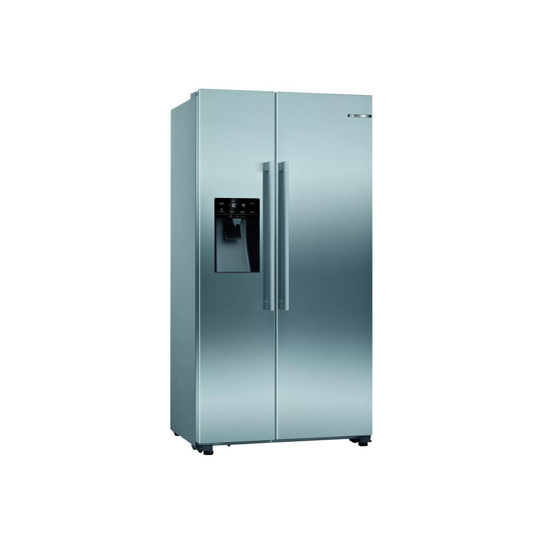 Bosch Serie 6 KAD93VIFPG American Fridge Freezer – Stainless Steel Effect – F Rated