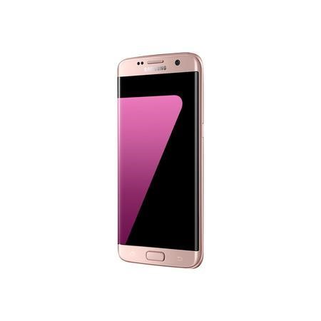 Grade C Samsung S7 Edge Pink Gold 32GB - Handset Only