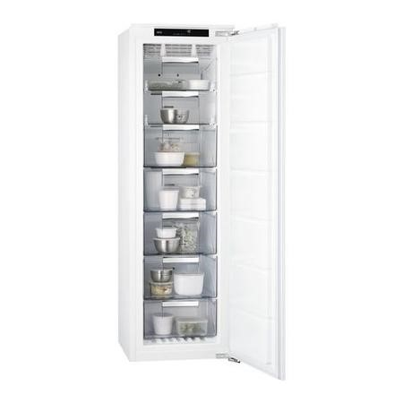 AEG ABB8181VNC 204 Litre Integrated In Column Freezer 177cmFrost Free 56cm Wide - White