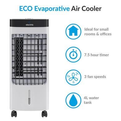 6L Portable Air Cooler  Evaporative Cooling Fan