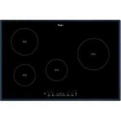Whirlpool ACM812BA Black Four Zone 77cm Induction Hob