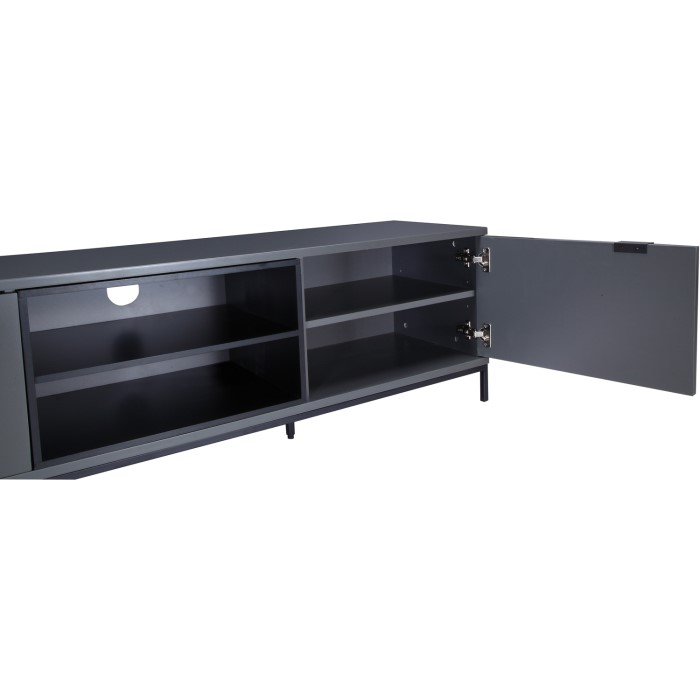 """8e3f3f58be4c Alphason ADCH1600-CH Chaplin TV Cabinet for up to 70"""" TVs - Charcoal"""