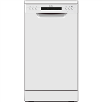 Amica ADF430WH 45cm 9 Place Slimline Freestanding Dishwasher - White Best Price, Cheapest Prices