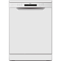 Amica ADF650WH 60cm 14 Place Freestanding Dishwasher With Cutlery Tray - White Best Price, Cheapest Prices
