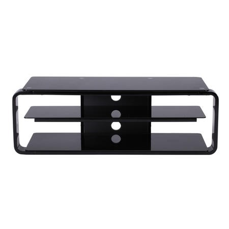 "Alphason ADL1150-BLK Lithium Black TV Stand for up to 52"" TVs"