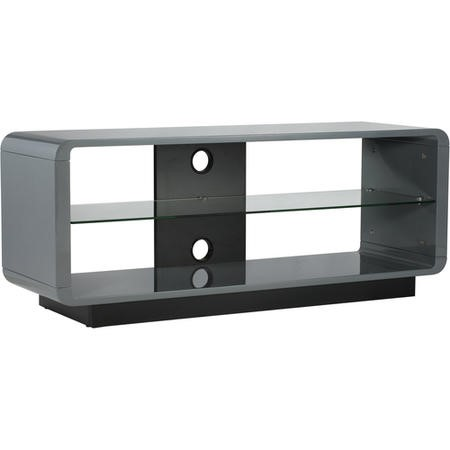 Alphason ADLU1200-GRY Luna 1200 Grey TV Stand