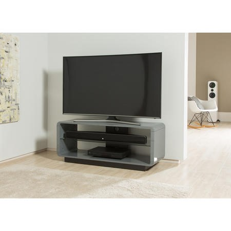 "Alphason ADLU1200-WHT Luna TV Stand for up to 60"" TVs - White"