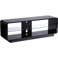 Alphason ADLU1400-BLK Luna TV Stand for up to 72