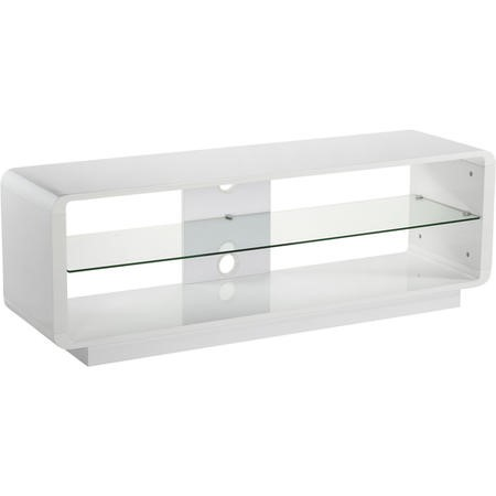 "Alphason ADLU1400-WHT Luna TV Stand for up to 72"" TVs - White"