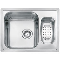 Reginox ADMIRAL-R60 1.5 Bowl Reversible Inset Stainless Steel Sink