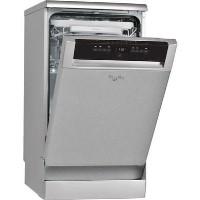 Whirlpool Supreme Clean ADP502IX 10 Place Slimline Freestanding Dishwasher - Stainless Steel