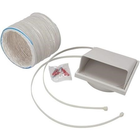 GRADE A1 - CDA AED61 150mm x 1m 6inch Flexible Ducting Kit