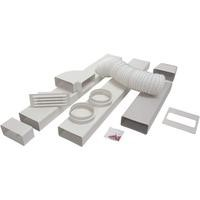 CDA AED54 125mm x 3m 5inch Rigid Ducting Kit