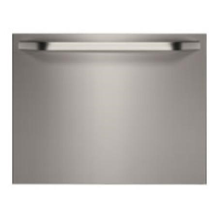 GRADE A1 - AEG AEGMIDIM10 STAINLESS STEEL DOOR for AEG Fully Integrated Compact Dishwasher F55200VI0