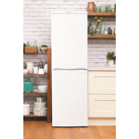 Hotpoint AFAA52PAI Frost Guard Freestanding Fridge Freezer Polar White