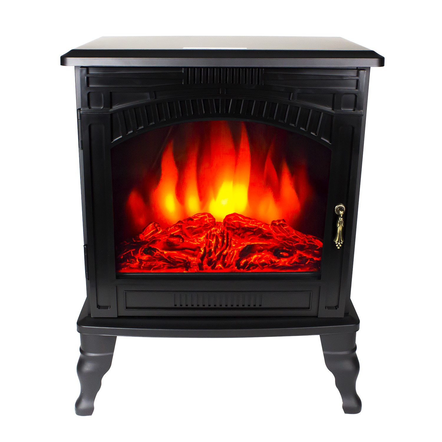 Grade A1 Amberglo Large Electric Wood Burning Stove Fire