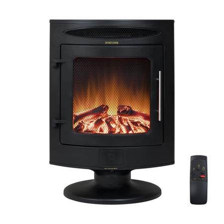 Electric Stove Heater in Black - Portable
