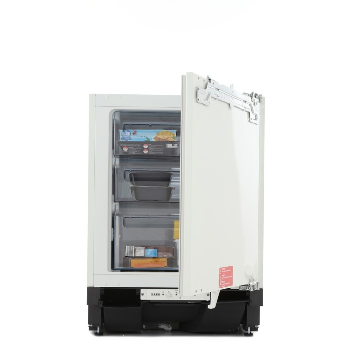 Aeg Agn58210f0 Frost Free Integrated Under Counter Freezer