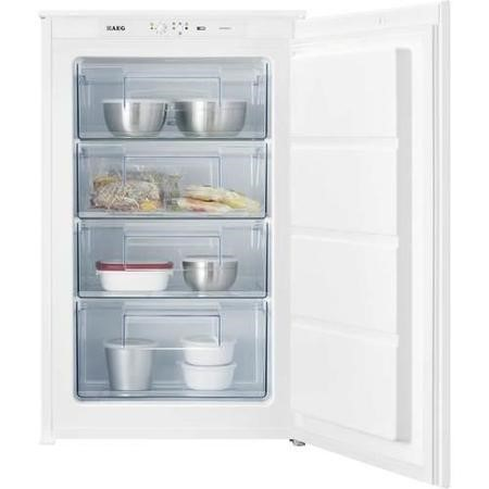 AEG AGS58800S1 54cm Wide Integrated Upright In-Column Freezer - White