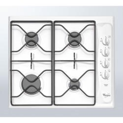 Whirlpool AKM260WH White Four Burner 60cm Gas Hob