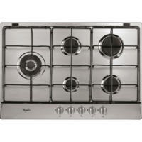 Whirlpool AKR317IX 70cm Five Burner Gas Hob Stainless Steel