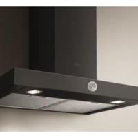 Elica ALPHA-90-BLK Alpha Black 90cm Chimney Cooker Hood