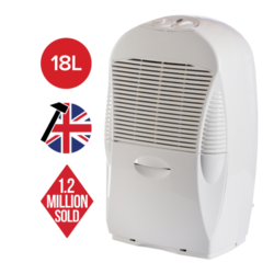 Ebac 18 L Dehumidifier Electronic Controls up to 5  bed house 1 Year Warranty