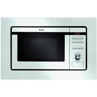 Amica AMM20BI Built In Microwave Oven And Grill - Stainless Steel
