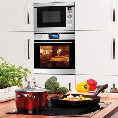 Amica AMM25BI 25 L 900 W Built-in Microwave With Grill For A 60cm Wide Cabinet Stainless steel