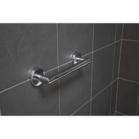 Croydex Grab Bar Contemporary Stainless Steel 300mm