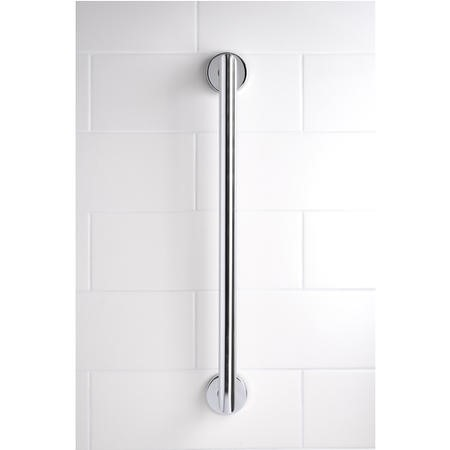Croydex Grab Bar Contemporary Stainless Steel 600mm