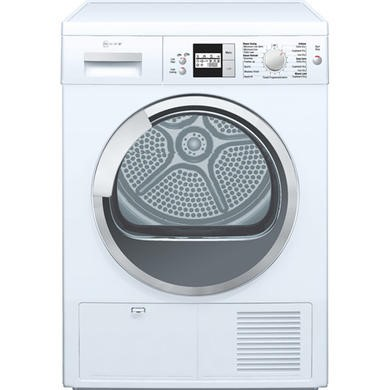 APD/R8580X0GB Neff Display Series 4 Freestanding Condenser Tumble Dryer - White
