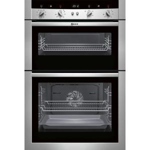 GRADE A3  - Neff U15M52N3GB Electric Built-in Double Oven - Stainless Steel